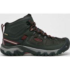 Keen - Buty Targhee Exp Mid. Brązowe buty trekkingowe męskie marki Keen, z materiału, outdoorowe. Za 499,90 zł.