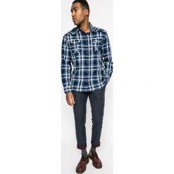 Medicine - Koszula North Storm. Szare koszule męskie na spinki marki MEDICINE, l, w kratkę, z bawełny, button down, z długim rękawem. W wyprzedaży za 59,90 zł.