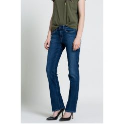 Pepe Jeans - Jeansy Piccadilly. Niebieskie jeansy damskie bootcut Pepe Jeans. W wyprzedaży za 219,90 zł.