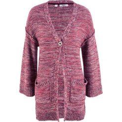 Sweter rozpinany oversize bonprix czarny bez - kolorowy melanż. Szare kardigany damskie marki Mohito, l. Za 59,99 zł.