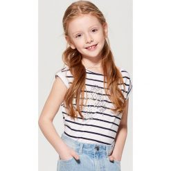 T-shirty damskie: Koszulka dla dziewczynki little princess – Biały