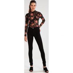 Jeansy damskie: Dorothy Perkins Tall FRANKIE Jeans Skinny Fit black