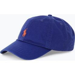 Polo Ralph Lauren - Męska czapka z daszkiem, niebieski. Niebieskie czapki z daszkiem męskie marki Polo Ralph Lauren, z haftami. Za 139,95 zł.