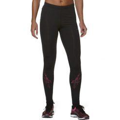 Asics Spodnie damskie Stripe Tight Asics Black/Pink r. XS (1213330692). Czarne spodnie sportowe damskie Asics, xs. Za 152,15 zł.