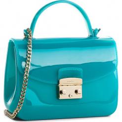 Torebka FURLA - Candy 961671 B BOC3 PL0 Gianda e. Zielone torebki klasyczne damskie Furla, z tworzywa sztucznego. W wyprzedaży za 479,00 zł.