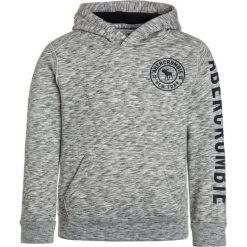 Bejsbolówki męskie: Abercrombie & Fitch EVERYBODY  Bluza z kapturem medium heather grey