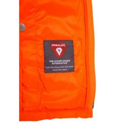 GAP PUFFER Kurtka zimowa orange blaze. Brązowe kurtki chłopięce przeciwdeszczowe GAP, na zimę, z materiału. W wyprzedaży za 167,20 zł.
