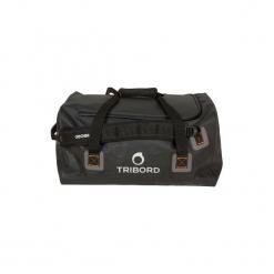 Torba podróżna żeglarska 80 L. Czarne torby męskie sportowe marki TRIBORD 6a869a9e1b283
