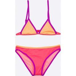 Pepe Jeans - Strój kąpielowy dziecięcy Mcalvo. Różowe dół bikini marki Mayoral, z bawełny, z okrągłym kołnierzem. W wyprzedaży za 129,90 zł.