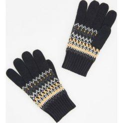 Rękawiczki - Żółty. Żółte rękawiczki męskie Reserved. Za 39,99 zł.