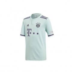 Koszulka do piłki nożnej replika Bayern Monachium. Szare t-shirty damskie marki Adidas, l. Za 389,99 zł.