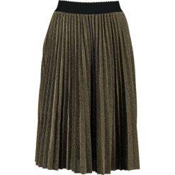 Spódniczki trapezowe: Navy London IRIS Spódnica trapezowa gold