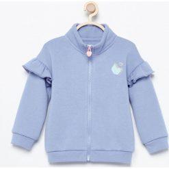 Bluza z nadrukiem na plecach - Niebieski. Niebieskie bluzy niemowlęce Reserved, z nadrukiem. W wyprzedaży za 29,99 zł.
