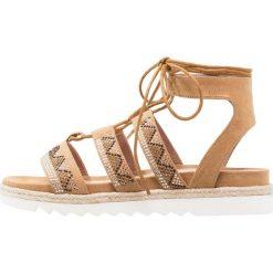Rzymianki damskie: Stonefly AVRIL Sandały na platformie tan brown