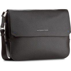 Torba na laptopa TRUSSARDI JEANS - Ottawa 71B00010  K299. Czarne plecaki męskie marki Trussardi Jeans, z jeansu. W wyprzedaży za 379,00 zł.