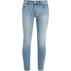 Abercrombie & Fitch Jeans Skinny Fit blue demin. Niebieskie jeansy damskie relaxed fit Abercrombie & Fitch, z bawełny. Za 369,00 zł.