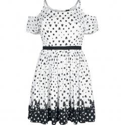 Myszka Miki i Minnie Ombre Sukienka biały/czarny. Białe sukienki na komunię marki Myszka Miki i Minnie, xl, z motywem z bajki, z dekoltem na plecach. Za 121,90 zł.