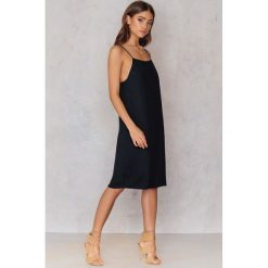 Sukienki hiszpanki: Samsoe & Samsoe Sukienka Gizem – Black