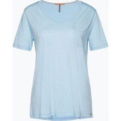T-shirty damskie: BOSS Casual – T-shirt damski – Tafavorite, niebieski
