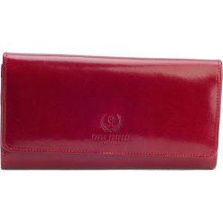 Ekskluzywny portfel damski Paolo Peruzzi duża kopertówka. Czerwone torebki na łańcuszku marki Paolo Peruzzi, ze skóry, eleganckie, duże. Za 179,00 zł.
