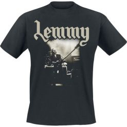 Motörhead Lemmy - Lived To Win T-Shirt czarny. Czarne t-shirty męskie z nadrukiem Motörhead, s, z dekoltem na plecach. Za 74,90 zł.