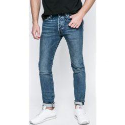 Levi's - Jeansy 501. Niebieskie jeansy męskie skinny marki House, z jeansu. W wyprzedaży za 219,90 zł.