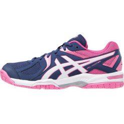 ASICS GELCOURT HUNTER 3 Obuwie do siatkówki indigo blue/white/azalea pink. Czarne buty do fitnessu damskie marki Asics. Za 349,00 zł.