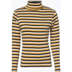 Brookshire - Damska koszulka z długim rękawem, żółty. Czarne t-shirty damskie marki brookshire, m, w paski, z dżerseju. Za 59,95 zł.