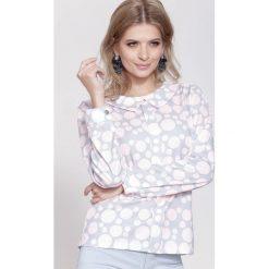 Bluzki damskie: Różowa Bluzka Unchain My Heart
