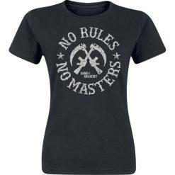 Bluzki asymetryczne: Sons Of Anarchy No Rules No Masters Koszulka damska czarny