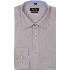 Koszula bexley 2366 długi rękaw slim fit brąz. Czarne koszule męskie na spinki marki Cropp, l. Za 89,99 zł.