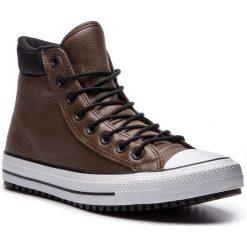 Trampki CONVERSE - Ctas Pc Boot Hi 162413C Chocolate/Black/White. Brązowe tenisówki męskie Converse, z gumy. Za 429,00 zł.