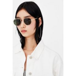 Okulary przeciwsłoneczne damskie aviatory: Okulary przeciwsłoneczne aviator z mostkiem