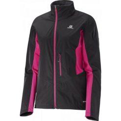 Salomon Kurtka Softshellowa Lightning Softshell Jkt W Bk/Yarrow Pink M. Różowe kurtki damskie do fitnessu Salomon, s, z softshellu. W wyprzedaży za 429,00 zł.