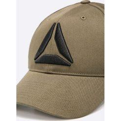 Reebok - Czapka. Szare czapki z daszkiem męskie Reebok. W wyprzedaży za 79,90 zł.
