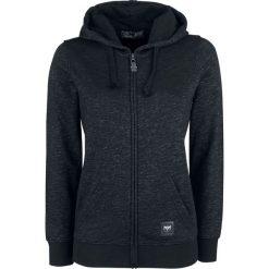 Black Premium by EMP Freaking Out Loud Bluza z kapturem rozpinana damska czarny/szary. Czarne bluzy rozpinane damskie marki Black Premium by EMP, xl, z poliesteru. Za 121,90 zł.