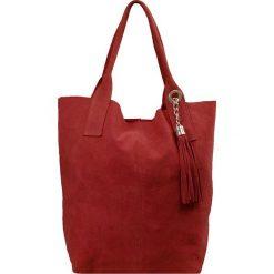 """Torebki i plecaki damskie: Skórzana torebka """"Chloe"""" w kolorze czerwonym – 33 x 34 x 18 cm"""