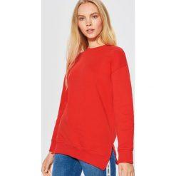 Gładka bluza - Czerwony. Czerwone bluzy damskie Cropp, l. Za 59,99 zł.