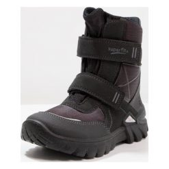 Superfit Śniegowce schwarz. Czarne buty zimowe chłopięce marki Superfit, z materiału. W wyprzedaży za 341,10 zł.