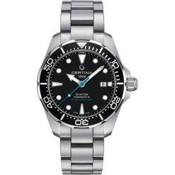 RABAT ZEGAREK CERTINA DS Action C032.407.11.051.10. Czarne zegarki męskie marki CERTINA, ze stali. W wyprzedaży za 2895,20 zł.