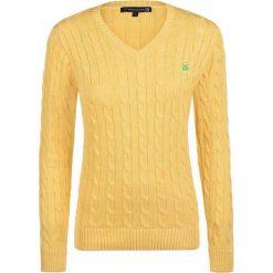 Sweter w kolorze żółtym. Żółte swetry klasyczne damskie marki Giorgio di Mare, xs, z dzianiny. W wyprzedaży za 130,95 zł.
