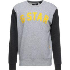 GStar HALGEN CORE  Bluza grey heather/dark black heather. Białe bluzy męskie marki G-Star, z nadrukiem. Za 369,00 zł.