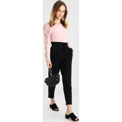 Bluzki asymetryczne: Lost Ink Petite LONG SLEEVE Bluzka z długim rękawem pink