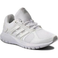 Buty adidas - Duramo 8 W BB4670 Ftwwht/Crywh. Czarne buty do biegania damskie marki Adidas, z kauczuku. W wyprzedaży za 209,00 zł.