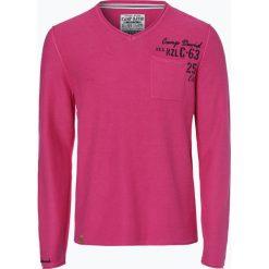 Camp David - Sweter męski, różowy. Czerwone swetry klasyczne męskie Camp David, m, ze splotem. Za 299,95 zł.