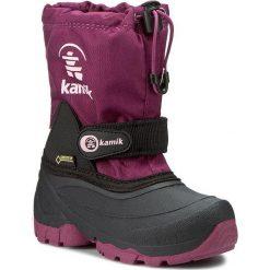 Kozaki dziewczęce: Śniegowce KAMIK – Waterbug5G GORE-TEX NK8237  Berry