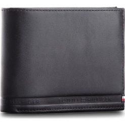 Duży Portfel Męski TOMMY HILFIGER - Selvedge Emboss CC F AM0AM03838  002. Czarne portfele męskie marki TOMMY HILFIGER, ze skóry. Za 329,00 zł.