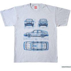 Koszulka SAAB GRAY tshirt. Szare t-shirty męskie z nadrukiem Pakamera, m, z bawełny. Za 77,00 zł.