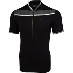 """T-shirty męskie: Koszulka kolarska """"Flinton"""" w kolorze czarnym"""
