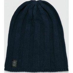 Pepe Jeans - Czapka. Czarne czapki zimowe męskie Pepe Jeans, na zimę, z bawełny. Za 99,90 zł.